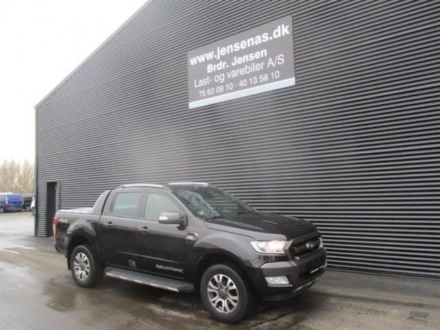 Ford Ranger 3200kg 3,2 TDCi Wildtrak 4x4 200HK DobKab 6g Aut. 2016<br/>Km: 91000