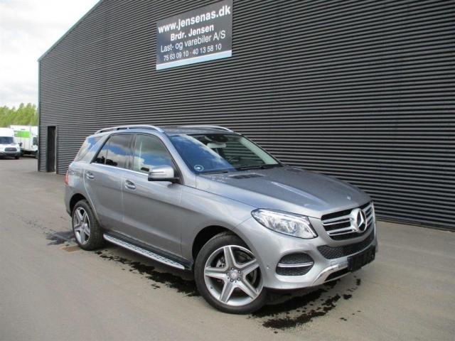 Mercedes-Benz GLE 350 3,0 D 4-Matic 9G-Tronic 258HK 5d 9g Aut. 2015<br/>Km: 25000