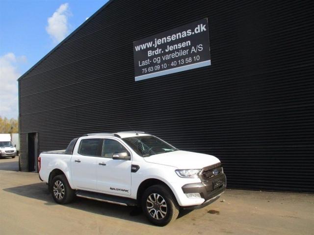 Ford Ranger 3200kg 3,2 TDCi Wildtrak 4x4 200HK DobKab 6g Aut. 2018<br/>Km: 8000