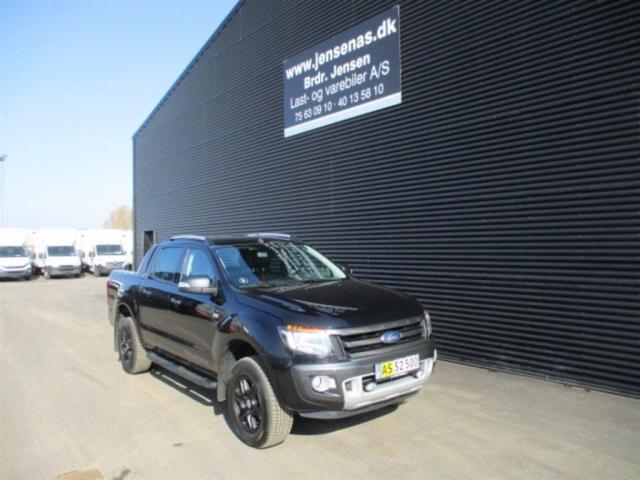 Ford Ranger 3200kg 3,2 TDCi Wildtrak 4x4 200HK DobKab 6g Aut. 2015<br/>Km: 335000