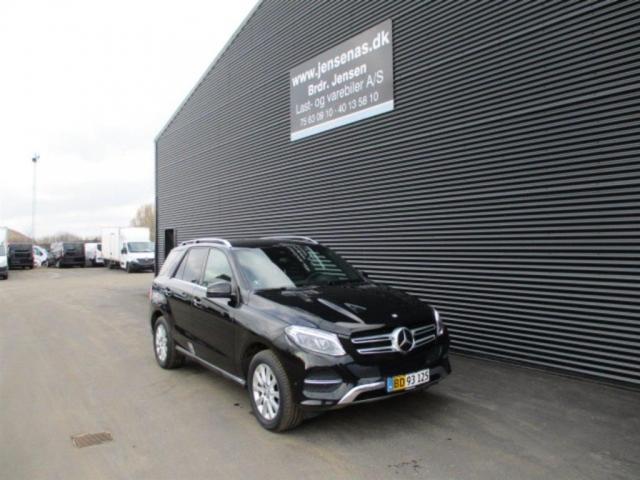 Mercedes-Benz GLE 350 3,0 D 4-Matic 9G-Tronic 258HK Van 9g Aut. 2016<br/>Km: 75000