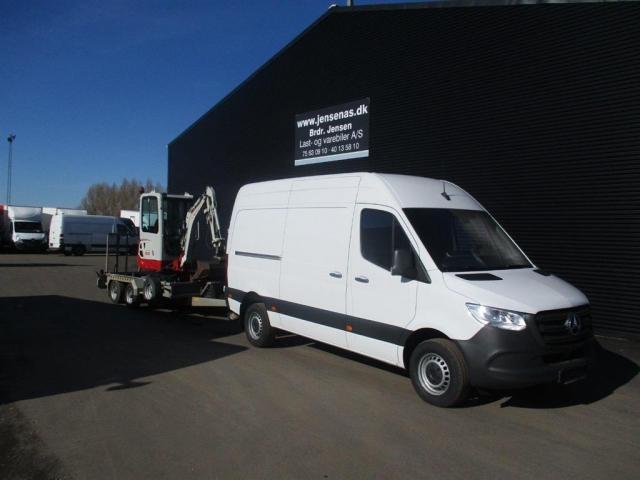 Mercedes-Benz Sprinter 316 2,1 CDI R2 163HK Van 6g 2019<br/>Km: 1000