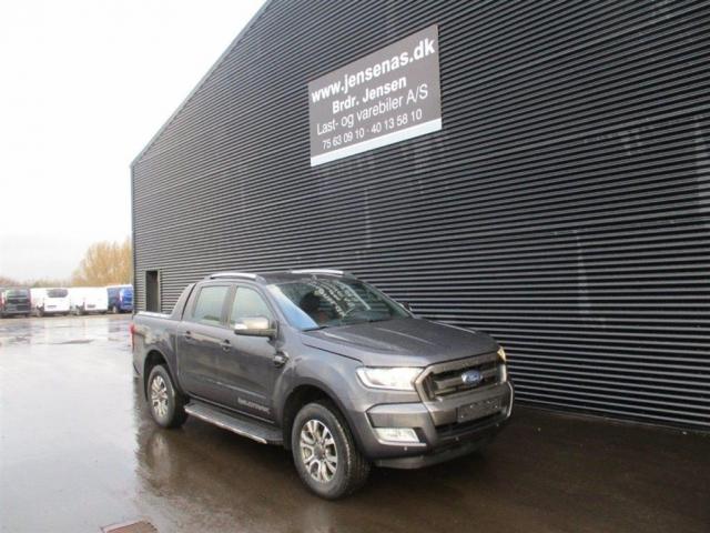 Ford Ranger 3200kg 3,2 TDCi Wildtrak X 4x4 200HK DobKab 6g Aut. 2017<br/>Km: 28000