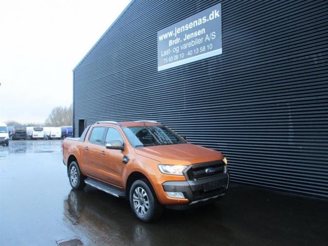Ford Ranger 3200kg 3,2 TDCi Wildtrak 4x4 200HK DobKab 6g Aut. 2018<br/>Km: 33000