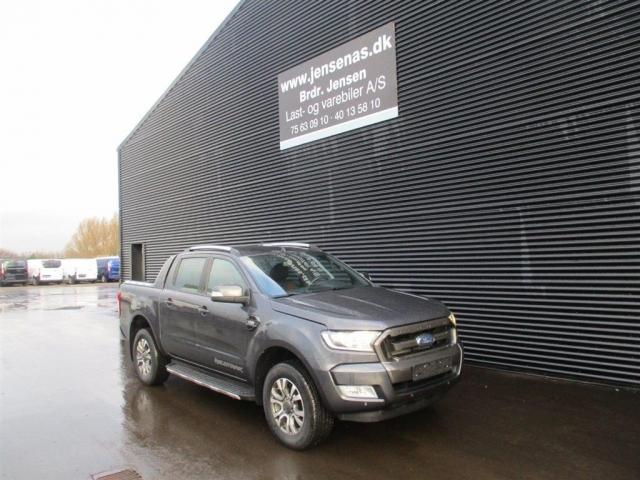 Ford Ranger 3200kg 3,2 TDCi Wildtrak 4x4 200HK DobKab 6g Aut. 2017<br/>Km: 28000