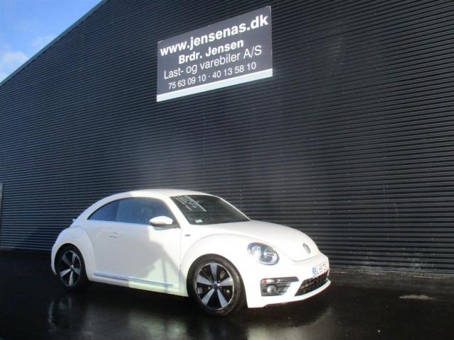 VW Beetle 2,0 TDI Design DSG 140HK 3d 6g Aut. 2013<br/>Km: 75000
