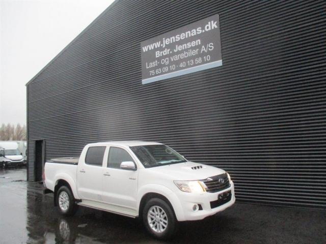Toyota HiLux Dobb.Kab. 3,0 D-4D T4 4x4 171HK Pick-Up Aut. 2012<br/>Km: 154000
