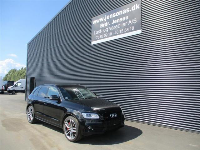 Audi SQ5 3,0 biturbo TDI Quattro Tiptr. 313HK 5d 8g Aut. 2014<br/>Km: 77000