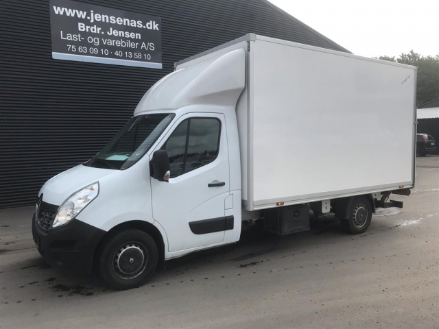 Renault Master T35 ALUKASSE/LIFT 2,3 DCI 165HK Ladv./Chas.  2016<br/>Km: 139000