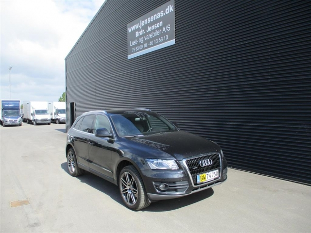 Audi Q5 3,0 TDI Quat S Tron 240HK Van 7g Aut. 2012<br/>Km: 182000