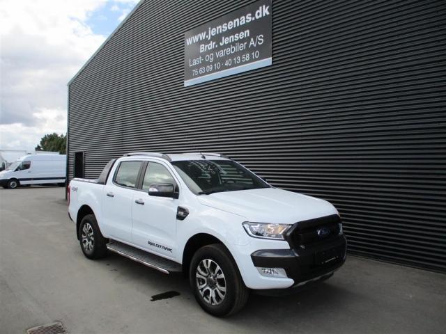 Ford Ranger 3000kg 3,2 TDCi Wildtrak MANDSKABSBIL 4x4 200HK DobKab  2018<br/>Km: 18000