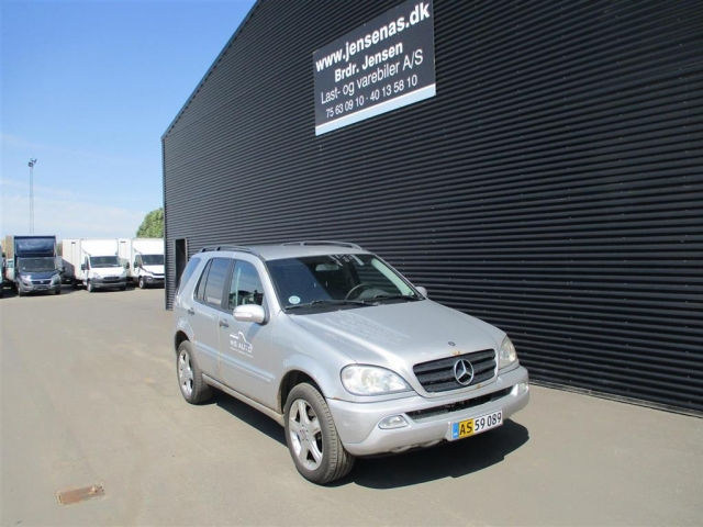Mercedes-Benz ML 270 CDI aut. 163HK Van 2002<br/>Km: 387000