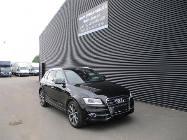 Audi SQ5 3,0 biturbo TDI Quattro Tiptr. 326HK 5d 8g Aut. 2015<br/>Km: 87000