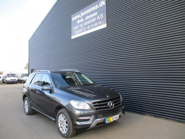 Mercedes-Benz ML 350 3,0 Bluetec 4x4 258HK Van 7g Aut. 2013<br/>Km: 217000
