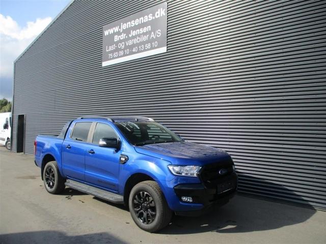 Ford Ranger 3200kg 3,2 TDCi Wildtrak MANDSKABSBIL 4x4 200HK DobKab  <br/>Km: 24000