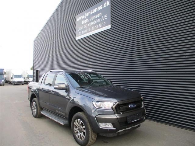 Ford Ranger 3200kg 3,2 TDCi Wildtrak 4x4 200HK DobKab 6g Aut. 2019<br/>Km: 13000
