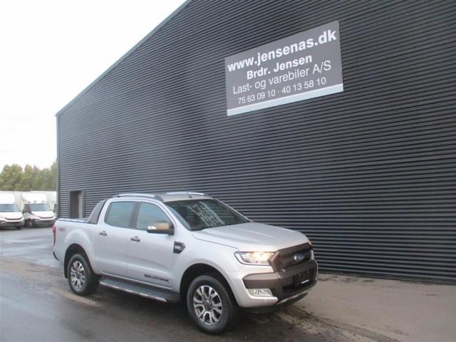 Ford Ranger 3000kg 3,2 TDCi Wildtrak 4x4 200HK DobKab 6g 2018<br/>Km: 3000