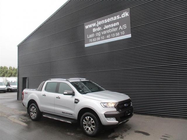 Ford Ranger 3000kg 3,2 TDCi Wildtrak X 4x4 200HK DobKab 6g Aut. 2018<br/>Km: 6000