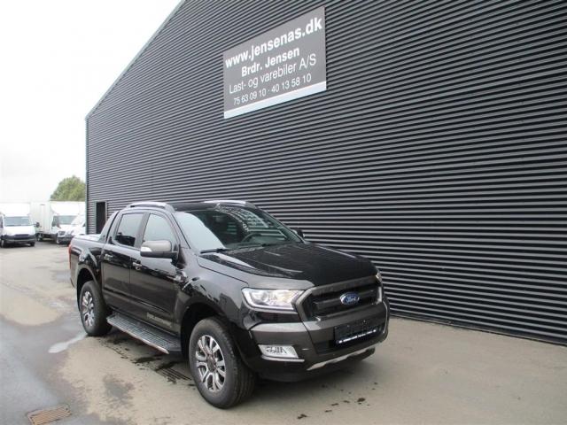 Ford Ranger 3200kg 3,2 TDCi Wildtrak 4x4 200HK DobKab 6g Aut. <br/>Km: 200