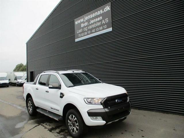 Ford Ranger 3200kg 3,2 TDCi Wildtrak 4x4 200HK DobKab 6g Aut. 2019<br/>Km: 1000