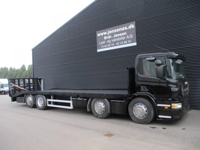 Scania P270 KNÆKLAD AUT, 2008<br/>  Km: 430.000