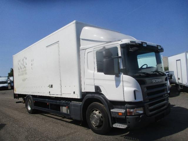 Scania p230 alukasse/lift 2011<br/>  Km: 408