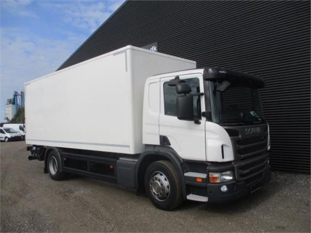 Scania P230 ALUKASSE/LIFT AUT, 2013<br/>  Km: 136.000