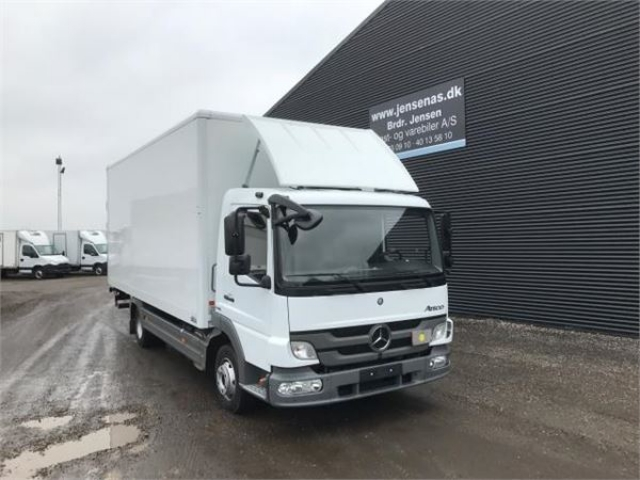 Mercedes-Benz ATEGO 816 4X2 ALUKASSE/LIFT 2013<br/>  Km: 68.000