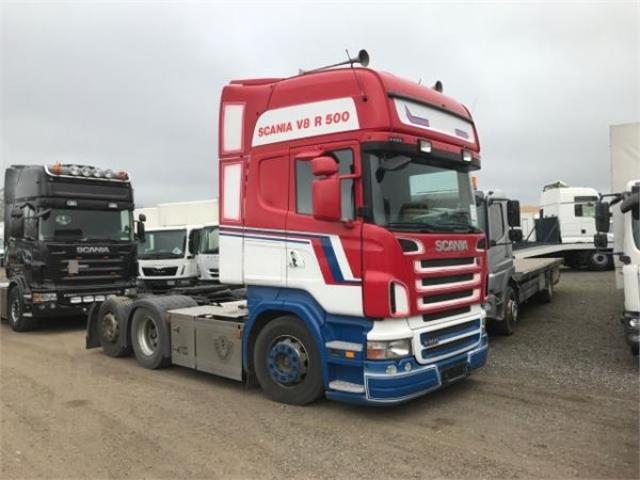 Scania R500 6X2 AUT. 2008<br/>  Km: 1.143.000