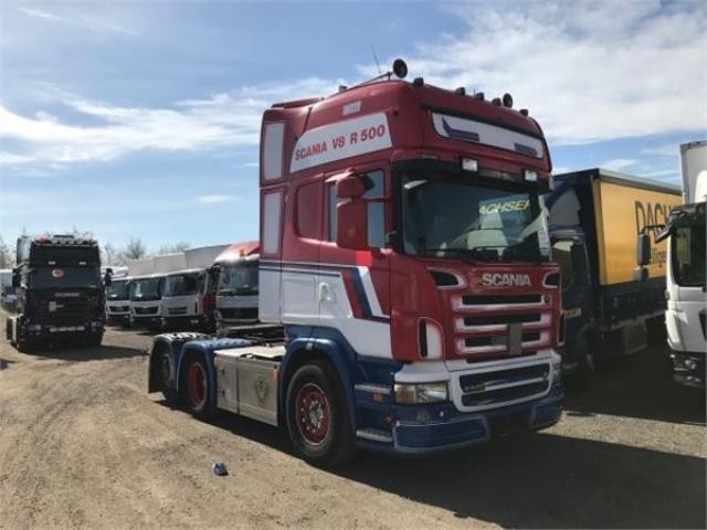 Scania R500 6X2 AUT. 2008<br/>  Km: 1.215.000