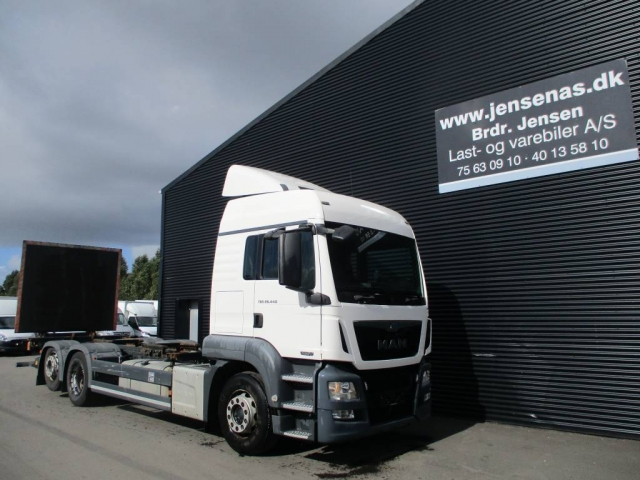 MAN tgs 26.440 CHASSIS aut, 2013<br/>  Km: 84.000