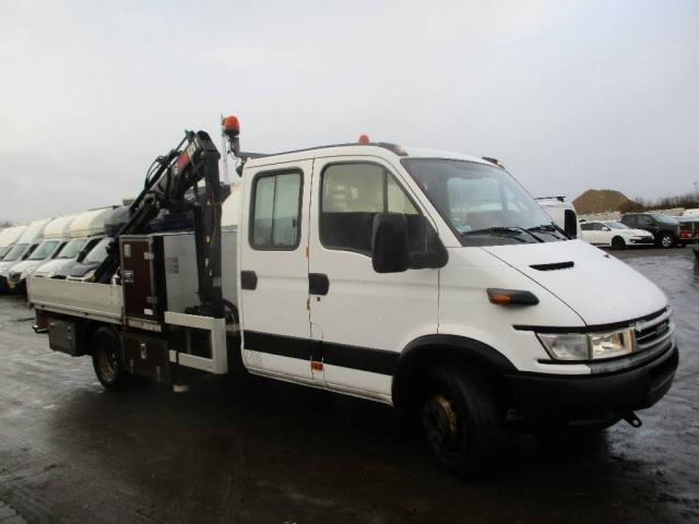 Iveco 65C 15 lad/kran 2005<br/>
