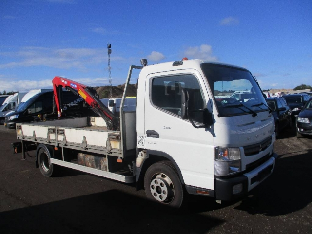 Mitsubishi FUSO CANTER7C15 LAD/KRAN AUT, 2012<br/>  Km: 240