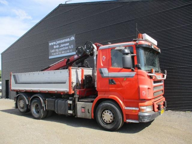 Scania R 420 lad/KRAN 2005<br/>  Km: 510