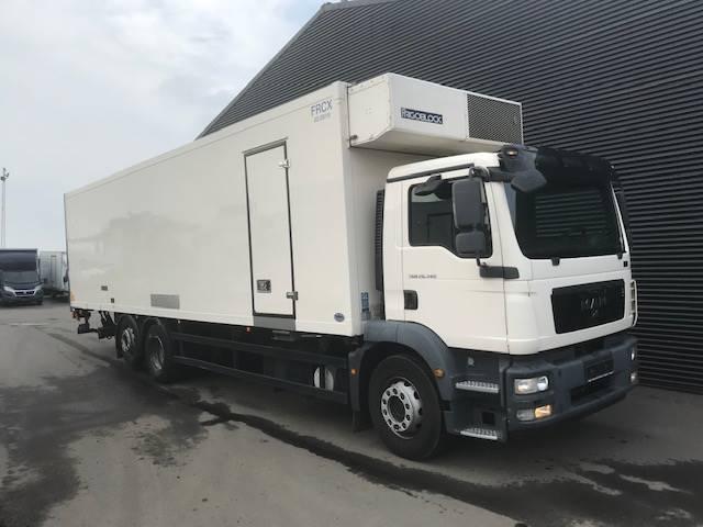 MAN TGM 26.340 AUT. 6X2 KØL-/FRYS OG VARME /LIFT 2012<br/>  Km: 150.000