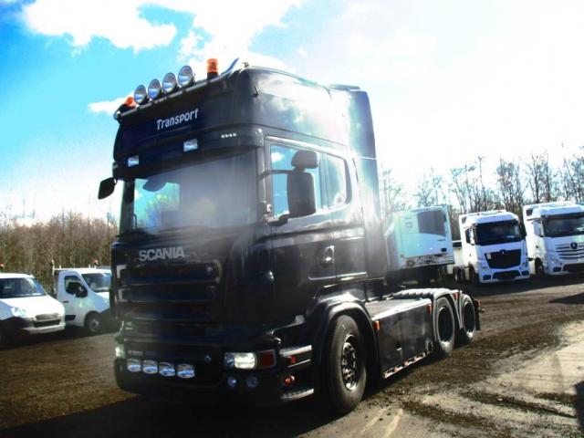 Scania R 560  Trækker V8 AUT, 2008<br/>  Km: 1.220.000