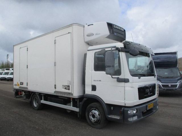 MAN TGL 12.180 kølebil/lift aut, 2012<br/>  Km: 72