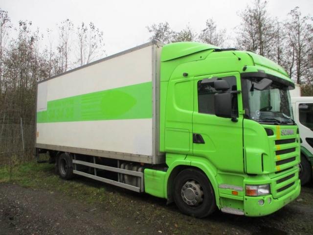 Scania ALUKASSE/LIFT 2008<br/>  Km: 353.000