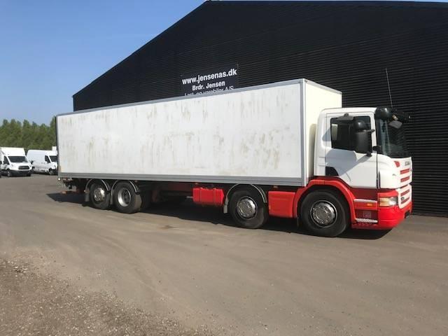 Scania P270 8X2*6 AUT. ALUKASSE / LIFT 2008<br/>  Km: 430.000