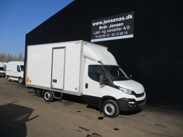 Iveco Daily 2,3 35S13 Alukasse m/lift 2015<br/>Km: 94000