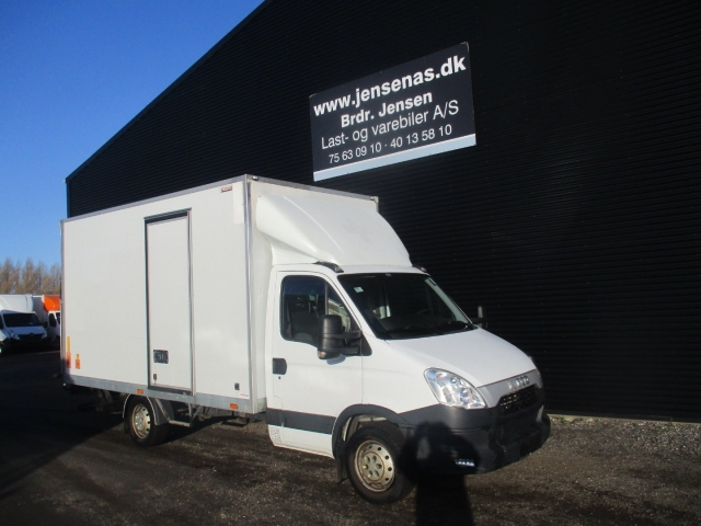 Iveco Daily 2,3 35S13 Alukasse m/lift 2013<br/>Km: 97000