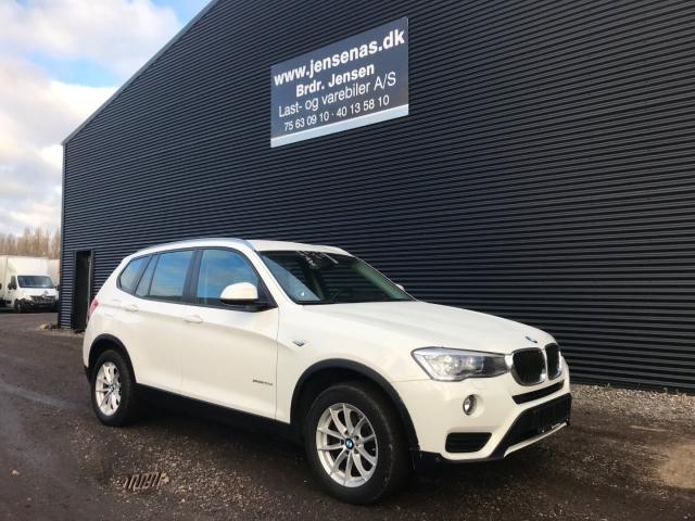 BMW X3 2,0 xDrive20d aut. Van 2016<br/>Km: 69000