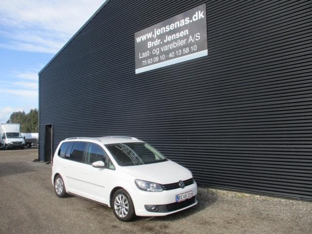VW Touran 2,0 TDi 140 Comfortline BMT 2011<br/>Km: 174000