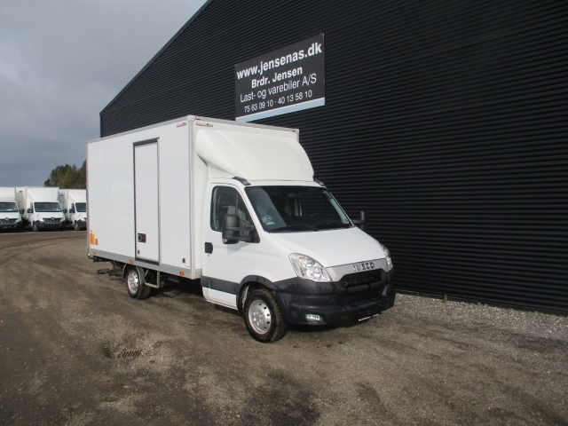 Iveco Daily 2,3 35S13 Alukasse m/lift 2013<br/>Km: 79000