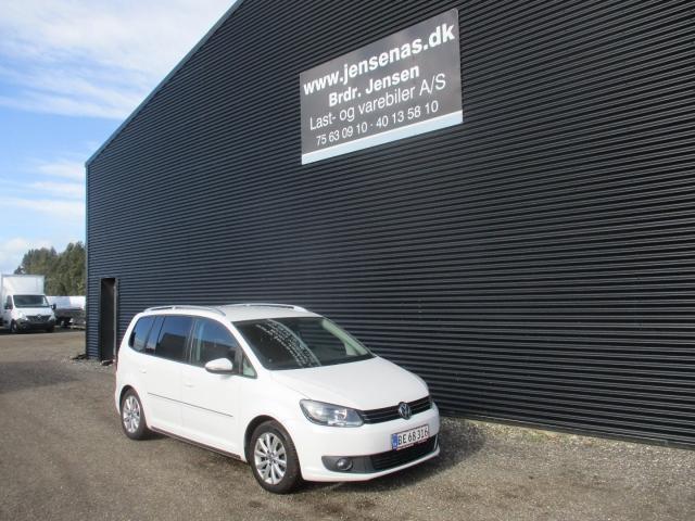 VW Touran 2,0 TDi 140 Comfortline BMT 7prs 2011<br/>Km: 174000