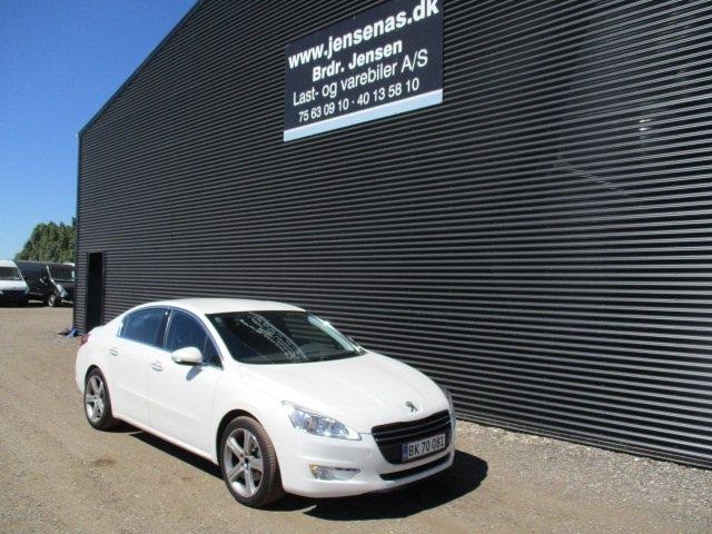 Peugeot 508 2,0 HDi 163 Allure aut. 2012<br/>Km: 110000