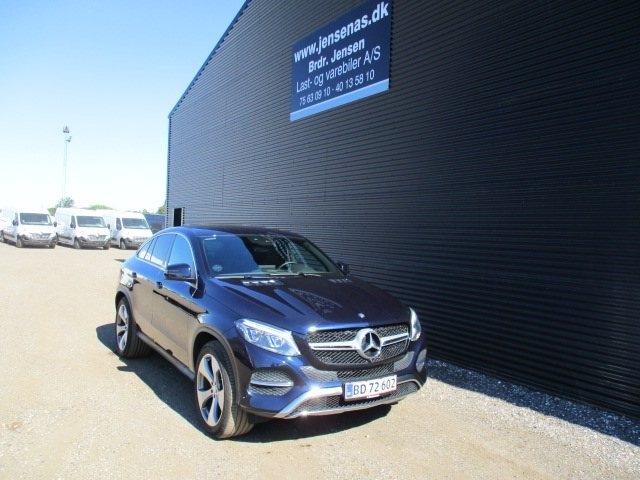 Mercedes GLE350 d 3,0 Coupé aut. 4-M 2016<br/>Km: 60000