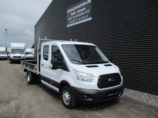 Ford Transit 350 L4 Chassis 2,0 TDCi 170 Db.Cab Ambiente RWD 2018<br/>Km: 0