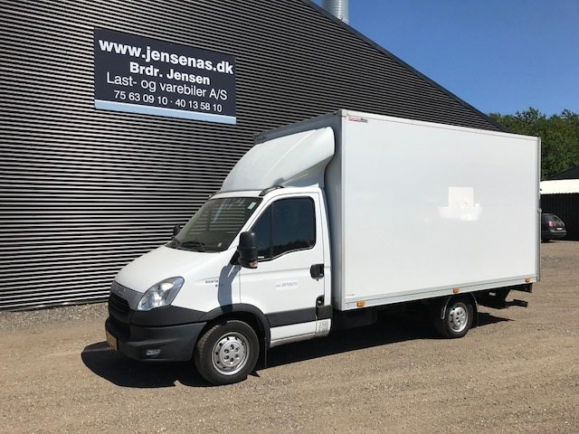 Iveco Daily 2,3 35S13 Alukasse m/lift 2013<br/>Km: 119000