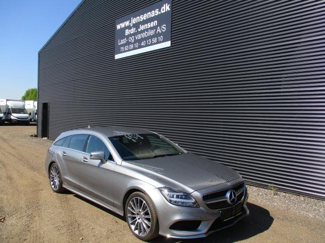 Mercedes CLS220 2,2 BlueTEC SB aut. 2015<br/> Km: 62000